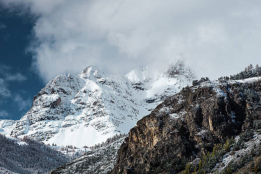 Snowy Mountains - 14 - French Alps by Paul MAURICE