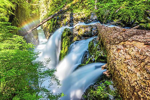 So Duc Falls with Rainbow by Jordan Hill