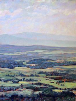 Soaring - along the Blue Ridge Parkway by Bonnie Mason