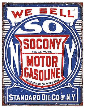 Greg Joens - Socony Oil Sign