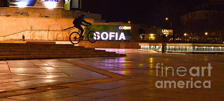 Sofia night rider by Yavor Mihaylov
