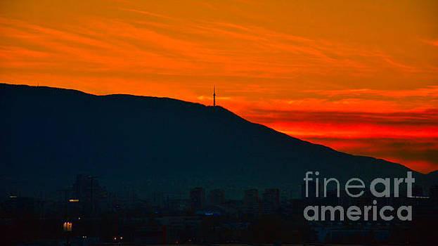 Sofia South Sunset by Yavor Mihaylov