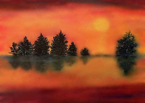 Softly Setting by Connie Spencer