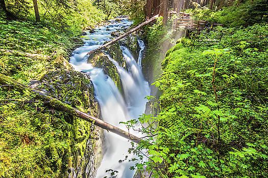 Sol Duc Falls by Jordan Hill