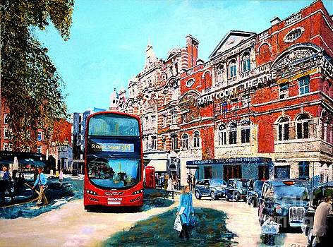 SOLD Day Shopping Sloane Square by Paul McIntyre