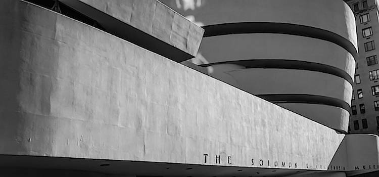 Solomon R Guggenheim Museum by Michael Hope