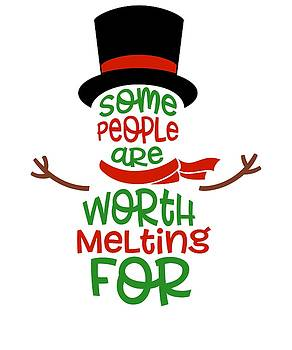 Some People Are With Melting For Snow Man Couple Love Relationships by Cameron Fulton