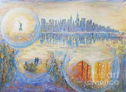 Some sun in my favorite places of New York by Olga Malamud-Pavlovich