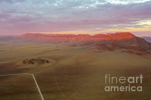 Sossusvlei Namibia Sunset Ridge by Mike Reid