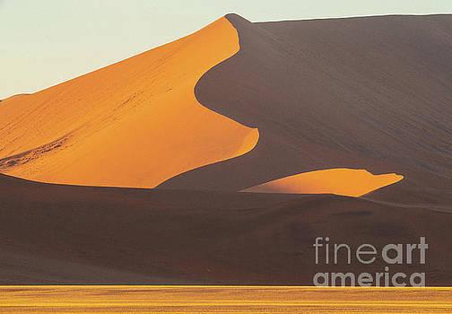 Sossusvlei Shades of Sand by Mike Reid