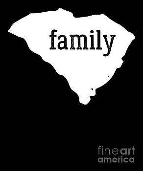 South Carolina Cool Gift Family State Shirt Light by J P
