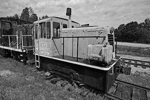 South Carolina Railroad Museum 4 B W 22 by Joseph C Hinson