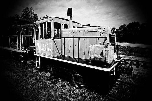 South Carolina Railroad Museum 4 B W A 22 by Joseph C Hinson