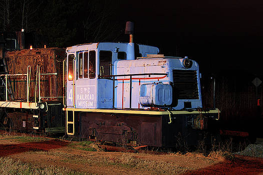 South Carolina Railroad Museum 4 Color 25 Night by Joseph C Hinson