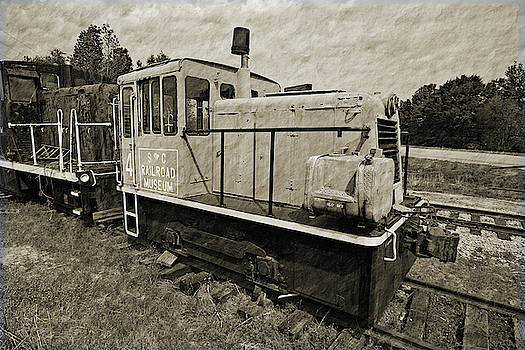 South Carolina Railroad Museum 4 Textured 22 by Joseph C Hinson