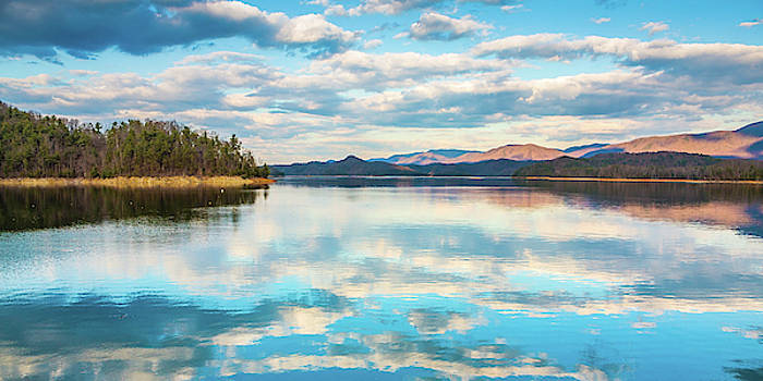 South Holston Lake Reflections by Greg Booher