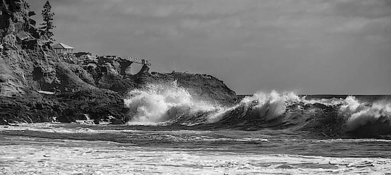 Cliff Wassmann - South Swell South Laguna BW
