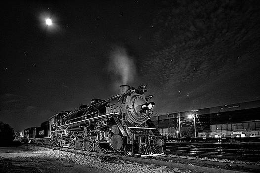 Southern 4501 under the Stars by Greg Booher