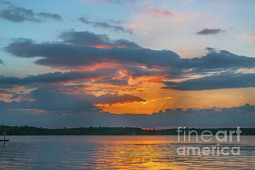 Dale Powell - Southern Exposure - Wando River Sunset