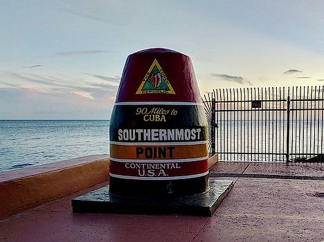 Southernmost Point in the United States by Julie Harrington