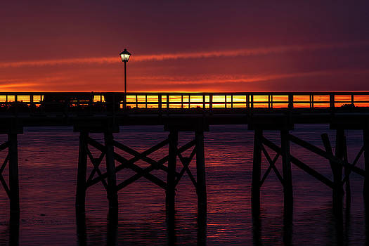 Southport Pier Sunrise by Nick Noble