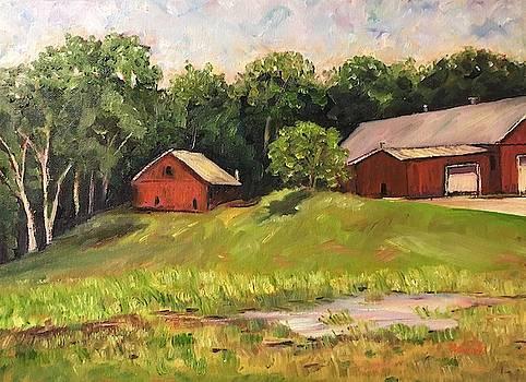 Southwick Barns by Richard Nowak