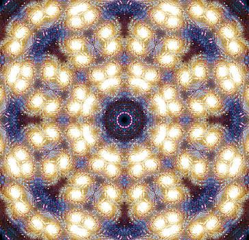 Space Mandala no1 by Grant Osborne