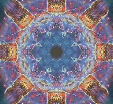 Space Mandala no3 by Grant Osborne
