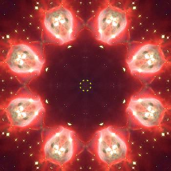 Space Mandala no4 by Grant Osborne