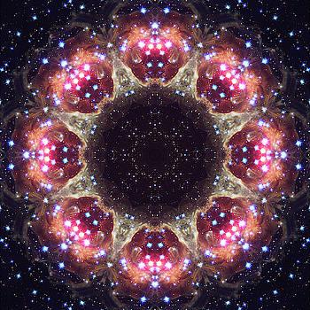 Space Mandala no6 by Grant Osborne