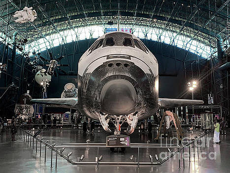 Space Shuttle on Display by Kimberly Blom-Roemer