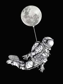 Space Travel Astronaut Universe Moon by Tony Rubino