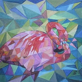 Sparkling Flamingo by Kim Selig