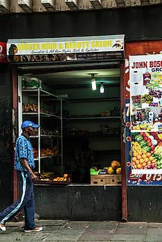 Spaza Shop in the City by Vladan Radulovic