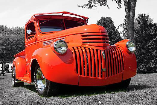 Spectacular Orange  by Rik Carlson