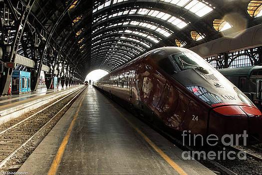 Speed Train by Mitch Shindelbower
