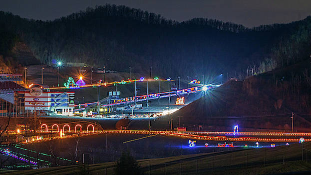 Speedway in Lights at Bristol Motor Speedway 2013 by Greg Booher