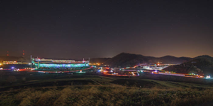 Speedway in Lights at Bristol Motor Speedway 2018 by Greg Booher