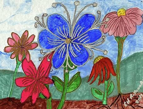 Spring Garden by Elinor Helen Rakowski