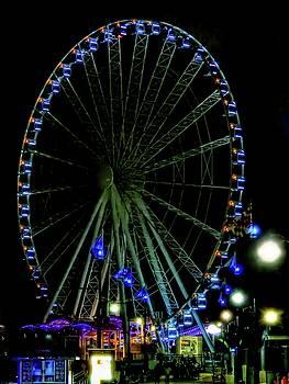 Spinning Wheel Capital Wheel by Kathy Gail