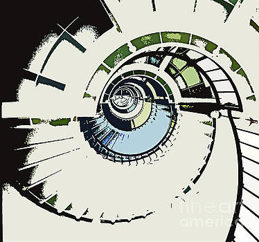 Sharon Williams Eng - Spiral Graphic Drawing