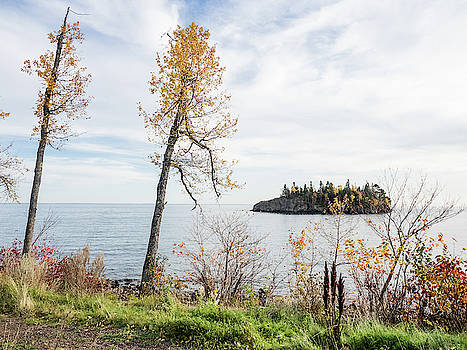 Split Rock in the Fall by Whitney Leigh Carlson