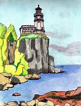 Split Rock Lighthouse by Paul Meinerth