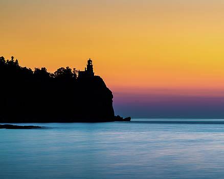 Split Rock Lighthouse Sunrise by Jeffrey Klug