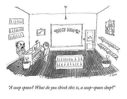 Spoon Shop by Edward Steed