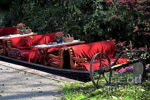 Spreewald, Germany Gondola by Laura Birr Brown