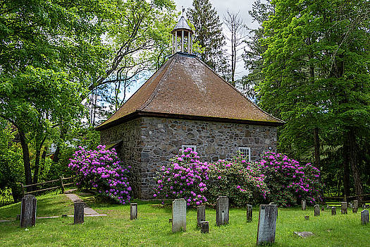 Spring at the Crispell Memorial French Church by Jeff Severson