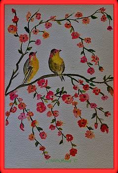 Spring Birds by Sonali Gangane