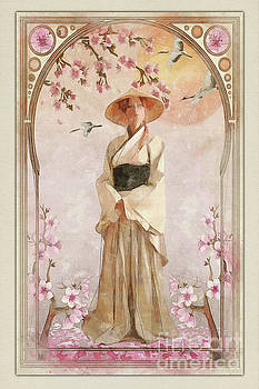 Spring blossoms by John Edwards