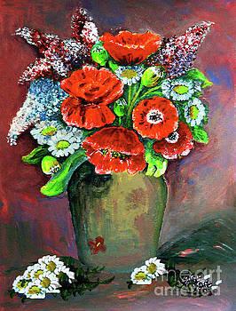 Spring Bouquet  by Jasna Dragun